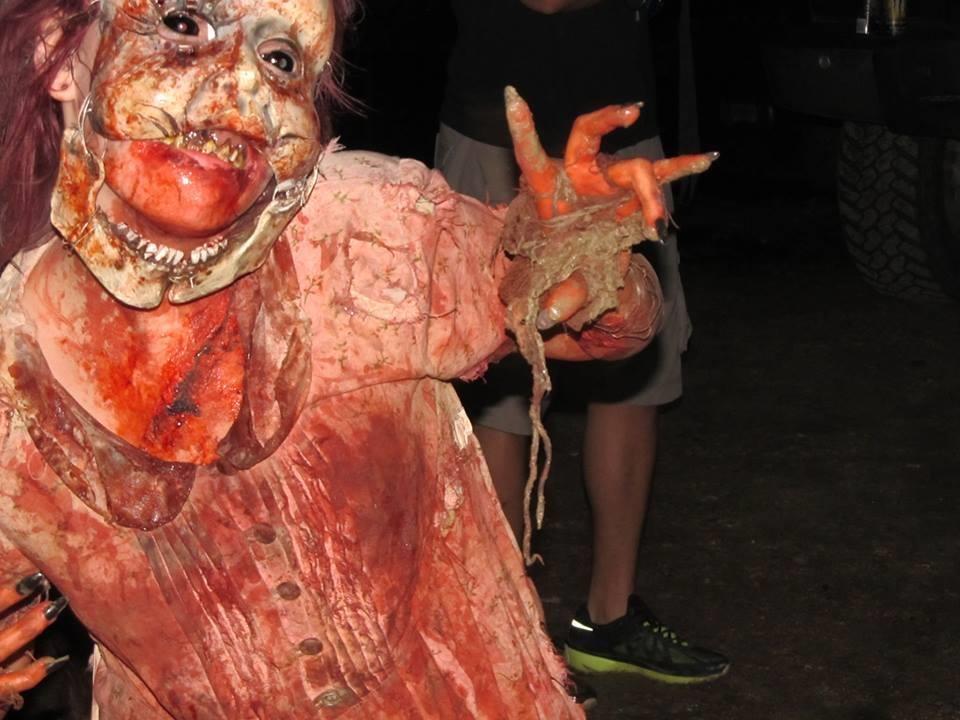 creepy hollow haunted house rosharon  tx photos  u0026 videos